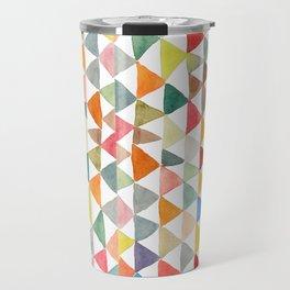 Triangle Tapestry Travel Mug