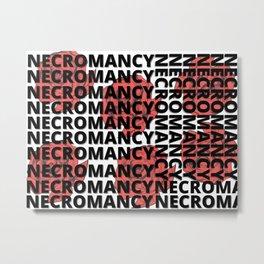 The Art Of Necromancy Metal Print