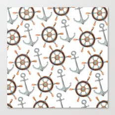 Nautical #1 Canvas Print
