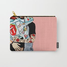 Love and Rock&Roll Carry-All Pouch