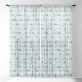 Get Your Kicks Sheer Curtain