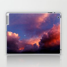 Moon in Sunset Clouds Laptop & iPad Skin