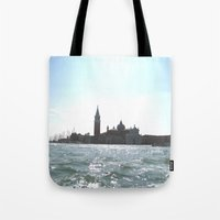venice Tote Bags featuring venice. by zenitt