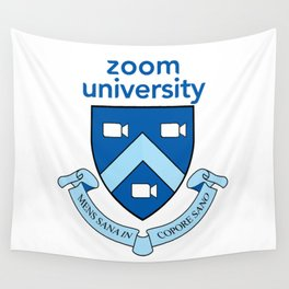 Zoom University  Wall Tapestry