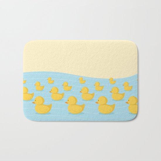 Rubber Duckie Army Bath Mat