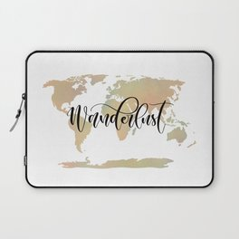 Wanderlust (blush/green) Laptop Sleeve