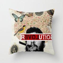 Public Figures Collection - Che Guevara Throw Pillow