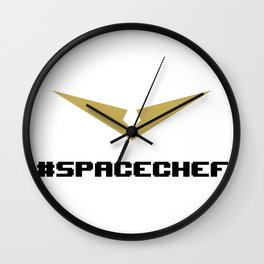 Space Chef - VLD Hunk Wall Clock