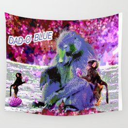 DAD-O BLUE Wall Tapestry