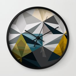 Contour my Soul Wall Clock