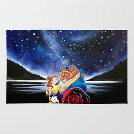 BEAUTY AND THE BEAST - STARRY NIGHT Rug