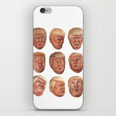 Faces Of Donald Trump iPhone & iPod Skin