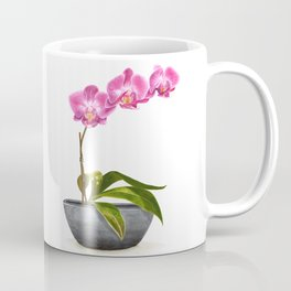 Watercolor Orchid Coffee Mug