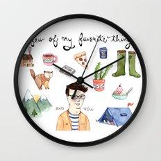 Favorite Things Wall Clock