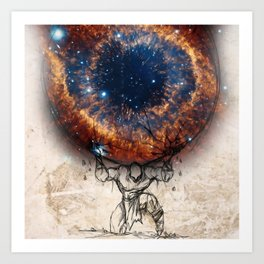 Galaxy Atlas Art Print