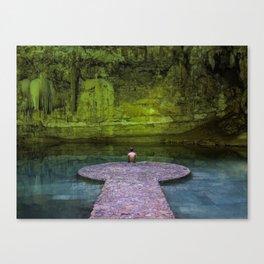 Suytun Cenote Canvas Print