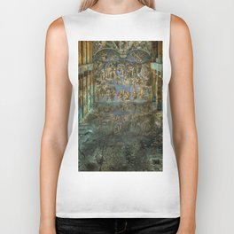 Apocalyptic Vision of the Sistine Chapel Rome 2020 Biker Tank