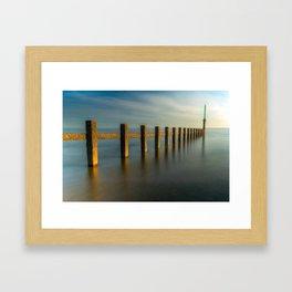 Seascape Wales Framed Art Print