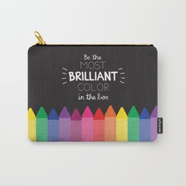 Most Brilliant Color Carry-All Pouch
