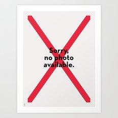 Sorry no photo available Art Print