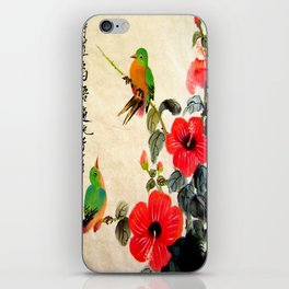 courting season iPhone Skin