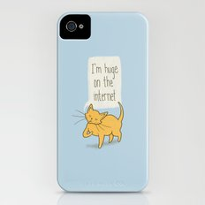 Huge on the Internet iPhone (4, 4s) Slim Case