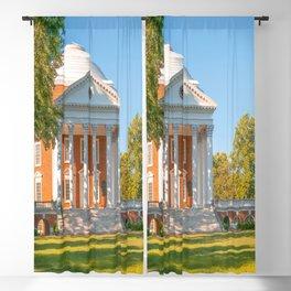 Charlottesville Virginia Campus Lawn Print Blackout Curtain