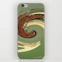 Swirl 05 - Colors of Rust / RostArt iPhone Skin