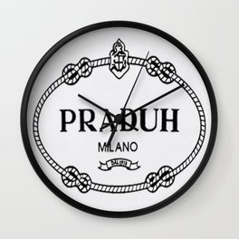 Praduh Wall Clock