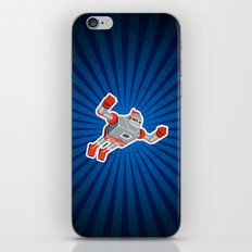 Jaianto Punch-Robo iPhone & iPod Skin