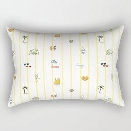 Summer time Rectangular Pillow