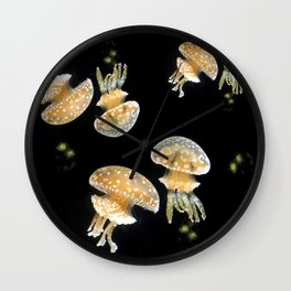 Jellyfish Jamming Wall Clock