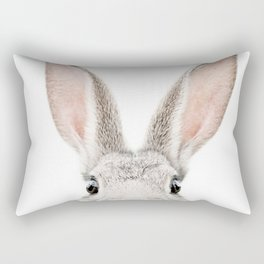 Bunny face Rectangular Pillow