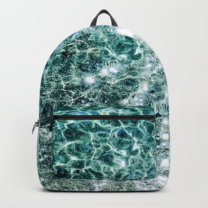 Seaside marble Backpack