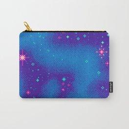 Indigo Nebula (8bit) Carry-All Pouch