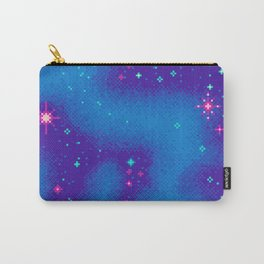 Indigo Nebula (8bit) Carry-All Pouch