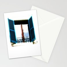 Window to the Present Stationery Cards