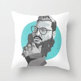 F**k Thats Delicious Throw Pillow