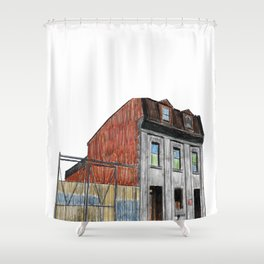 POLICE STATION NO. 3 Shower Curtain