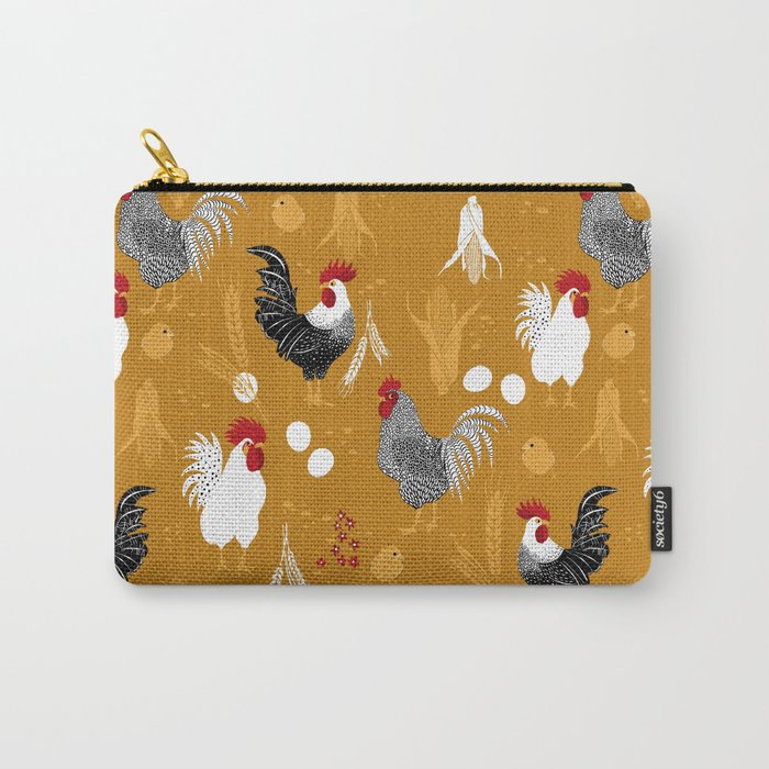 Rooster Roundup Carry-All Pouch