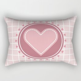 Cute heart Rectangular Pillow