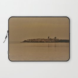 fishing in the coast from Spain Laptop Sleeve