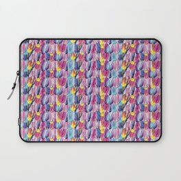Brushstroke Fortunes I (Abstract Painting) Laptop Sleeve
