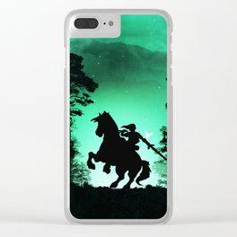 ZELDA-LINK Clear iPhone Case