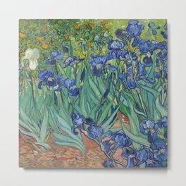 Irises - Vincent Van Gogh Metal Print