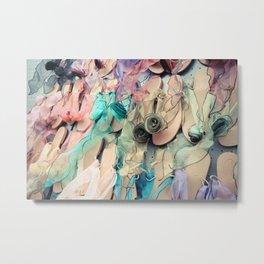 Sandals Metal Print