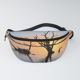 Sunset Silhouette Fanny Pack