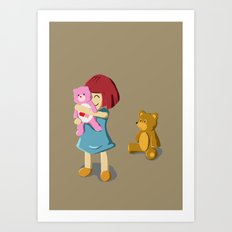 The Selected Art Print