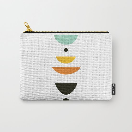 Mid Century Art Carry-All Pouch