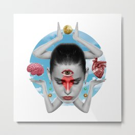 Spiritual Balance Metal Print
